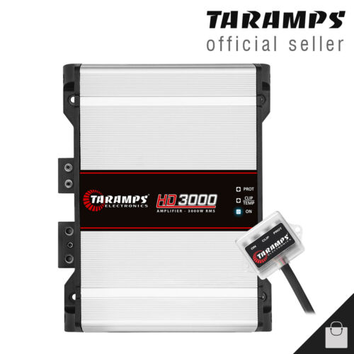 Taramps HD 3000 1 Ohm Amplifier 3K Bass & Voice Compact Car Amp - USA Shipping