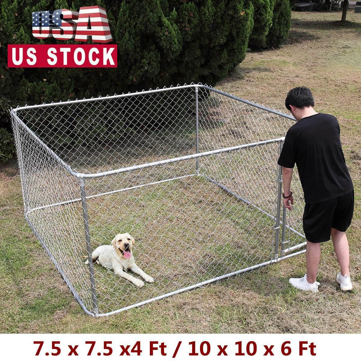 dog kennel steel wire outdoor heavy duty