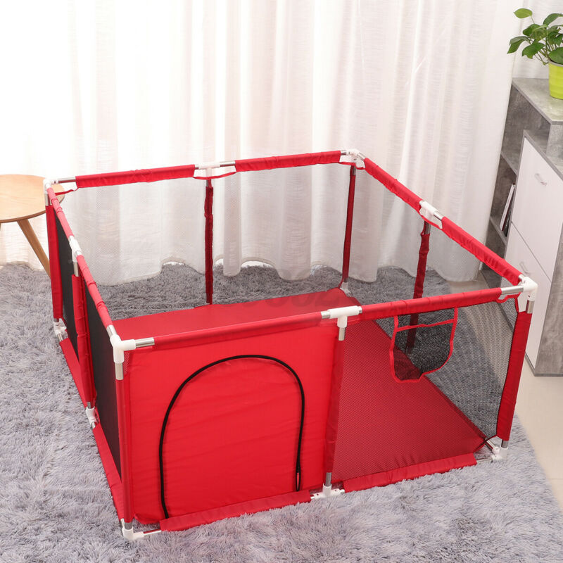 Baby Safety Playpen Kids Activity Center Toddler In/Outdoor Home Play Y