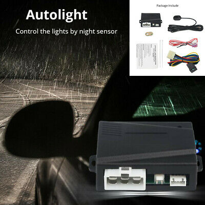 12V Car Modification Headlight Control System Automatic Headlight Sensor Control