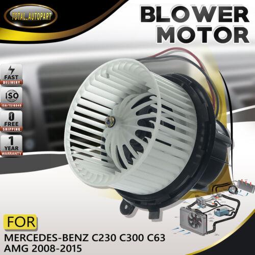 2018200208 fits Mercedes-Benz HVAC Heater Blower Motor W//Fan Front ABS Plastic