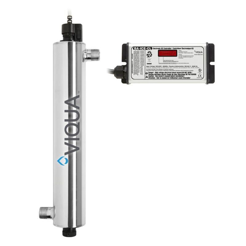 Viqua VH410 UV Disinfection System 34 GPM 3/4 MNPT