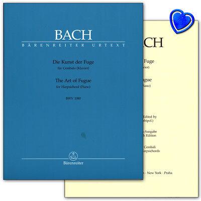 Die Kunst der Fuge BWV 1080 - Bach J.S. - Bärenreiter - BA5207 - 9790006503674