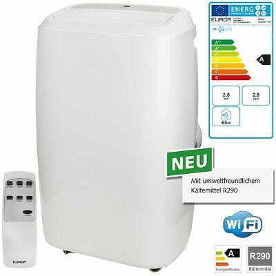 Eurom Coolsilent 100 WiFi Raumklimagerät 2,8 kW mobile Klimaanlage 380842