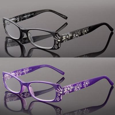 Reading Glasses Women Stylish Rhinestone Design Readers Spring Hinge (Stylish Reading Glasses For Women)