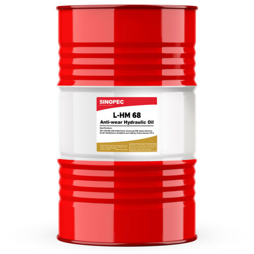 Sinopec AW 68 Hydraulic Oil Fluid (ISO VG 68, SAE 20) - 55 Gallon Drum