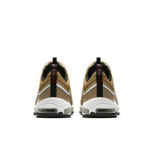 Nike Air Max 97 Ultra '17 UK 10 EUR 45 Metallic Gold University Red 918356 700