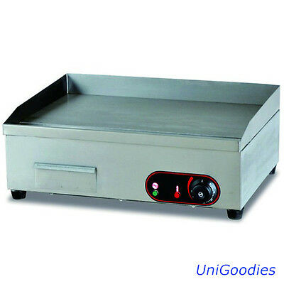 Griddle Grill Machine Warmer Electric Mini Stainless Commercial Restaurant