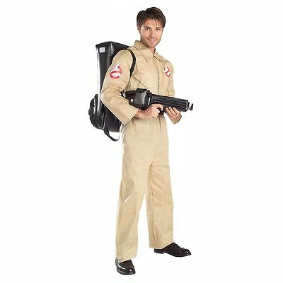 LICENSED GHOSTBUSTERS GHOST BUSTER ADULT HALLOWEEN COSTUME MEN'S SIZE STANDARD