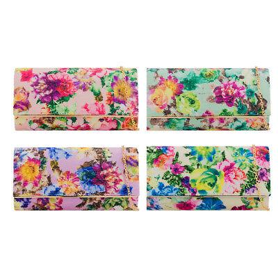 Floral Purse Bag (LeahWard Women's Clutch Bag Floral Wedding Handbags Evening Purse For Ladies)