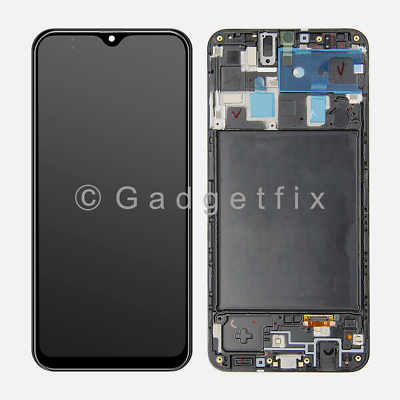 USA For Samsung Galaxy A20 2019 A205U Display LCD Touch Screen Digitizer + Frame