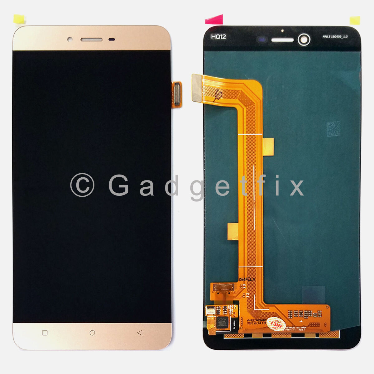 Gold Touch Screen Digitizer Lcd Display Screen Assembly F...