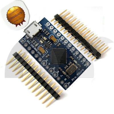 Pro Micro Atmega 32U4-MU 5V 16MHz Board  Module For Arduino-Compatible