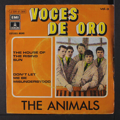 ANIMALS: House Of The Rising Sun / Don't Let Me Be Misunderstood 45 (Spain,