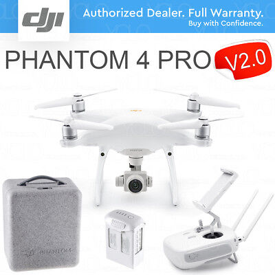 "DJI PHANTOM 4 PRO V2.0 DRONE with Gimbal Camera with 1"" CMOS Sensor. 4K 60fps."