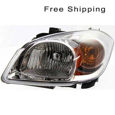 Halogen Head Lamp Assembly LH Side Fits Chevrolet Cobalt Pontiac G5 GM2502251