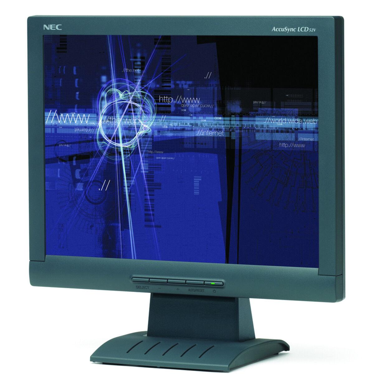 "NEC ACCUSYNC LCD52V 15"" LCD MONITOR - 90 DAYS WARRANTY ASLCD"