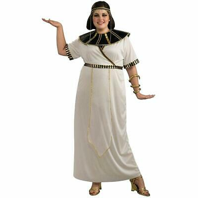 Egyptian Girl Queen Cleopatra Fancy Dress Up Halloween Plus Size Adult Costume](Egyptian Halloween Costumes Plus Size)