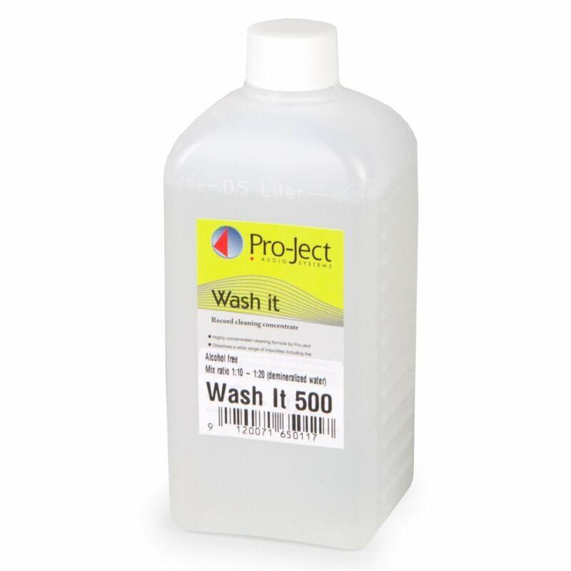 Pro-Ject Wash It Reinigungsflüssigkeit für Plattenwaschmaschine VC-S 500ml