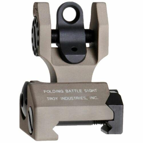 Troy Rear Folding Battlesight FDE