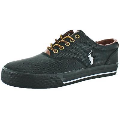 - Polo Ralph Lauren Vaughn Men's Canvas Fashion Sneakers Shoes