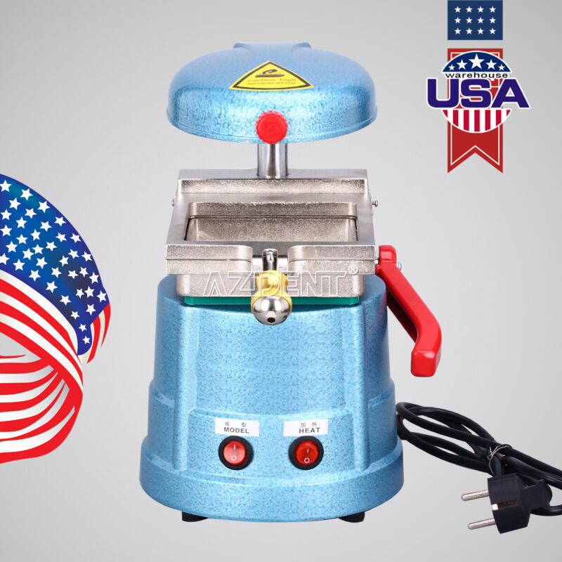 UPS Dental Vacuum Forming Machine Dental Lab Former Heat Molding Machine 110V