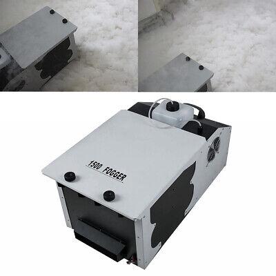 Low Fog Machine (1500W Remote Control Smoke Low Lying Fog Machine Dry Ice Effect Party)