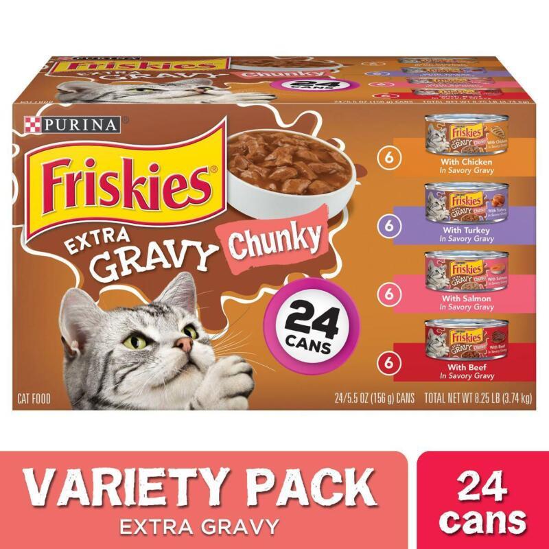 Friskies Extra Gravy Chunky Wet Cat Food ...