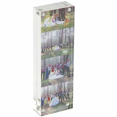 1pk/2pk Photo Booth Picture Acrylic Frames 2x6