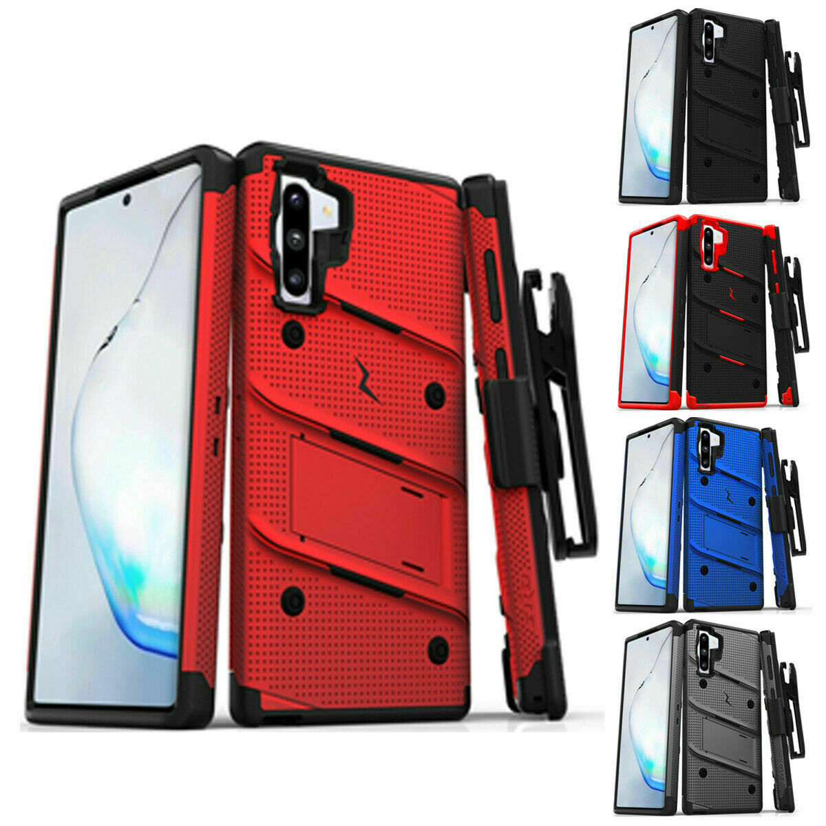 Samsung Galaxy NOTE 10 Case ZIZO BOLT with rotatable holster