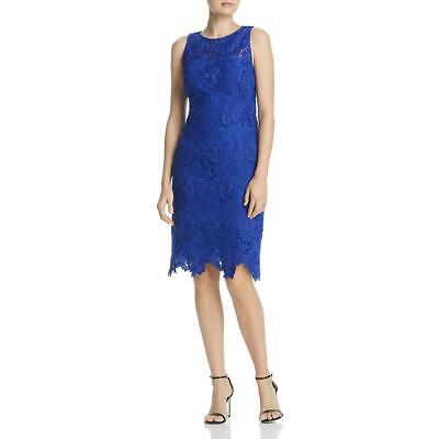 Laundry by Shelli Segal Womens Floral Lace Cocktail Dress