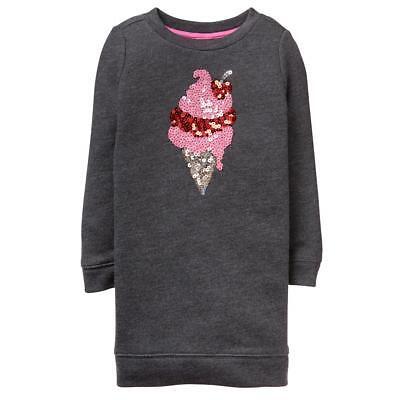 NWT Gymboree Sweetheart Shop Ice cream Dress Girls Long Sleeve 5/6,14 (Girl Dress Shops)