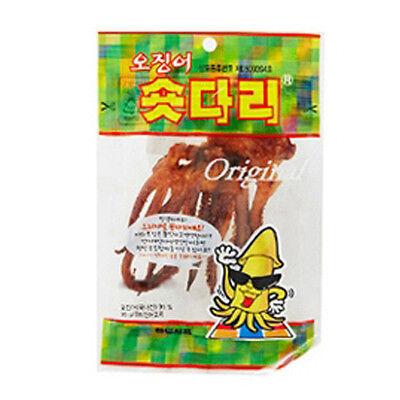 Roasted and Seasoned Squid Legs 3 Pack SHORT DARI Delicious Korean Snack Food