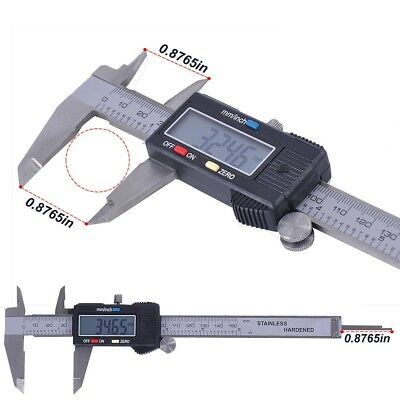 Digital Electronic Gauge Plastic Steel Vernier Caliper 150mm 6 Micrometer