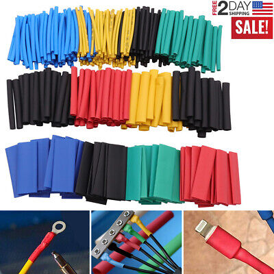 530pcs Cable Heat Shrink Tubing Sleeve Wire Wrap Tube 21 Assortment Kit Tools