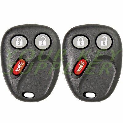 2 New Keyless Entry Remote Key Fob for Tahoe Silverado Yukon Sierra H2 LHJ011