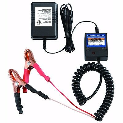 12v Volt Automatic Car Battery Float Trickle Charger Maintain Charge