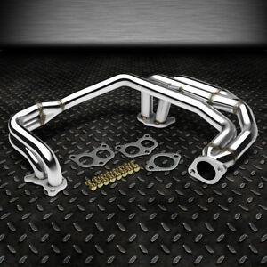 FOR 97-05 SUBARU IMPREZA 2.5 RS EJ25 NA STAINLESS RACING HEADER MANIFOLD EXHAUST