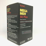 GNC Mega Men 50 Plus 120 Caplets  Free Shipping
