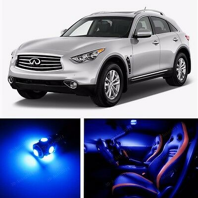 20x LED Xenon White Light Interior Package Kit for Infiniti Fx35 Fx37 Fx50, Qx70