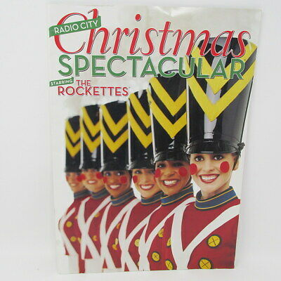 Radio City Christmas Spectacular Program 2003 Starring Rockettes New York City ()