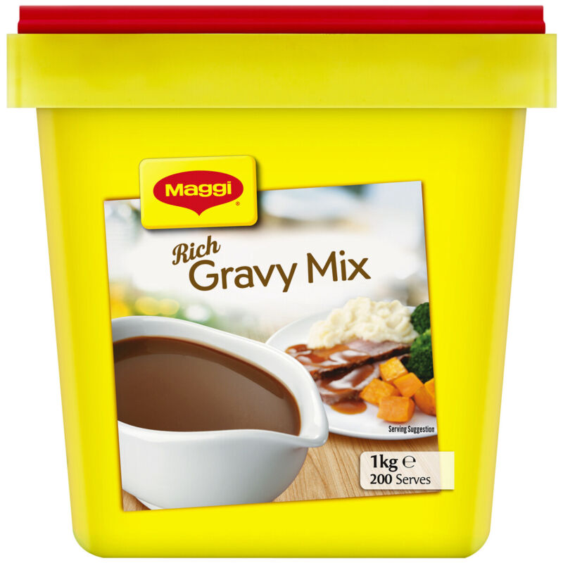 1kg Maggi Rich Gravy Mix Classic Best Before Feb 2022 Secure Packaging