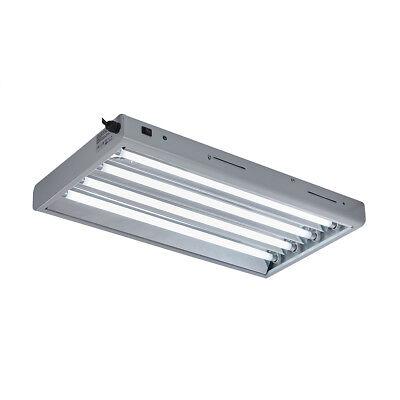 TopoGrow T5 2FT/ 4FT Grow Light Fluorescent Lighting System W/6500K/3000K Tubes