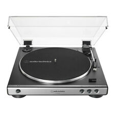 Audio Technica AT-LP60XUSB Direct Drive USB Turntable (gun metal)