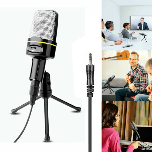 USB Condenser Studio Sound Recording Microphone Mic + Shock
