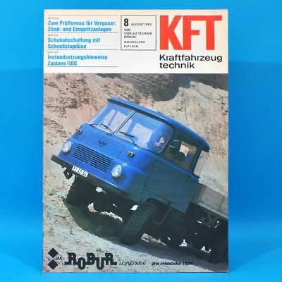 DDR KfT Kraftfahrzeugtechnik 8/1983 Citroen BX Robur Nissan Micra Skoda 120 H 70