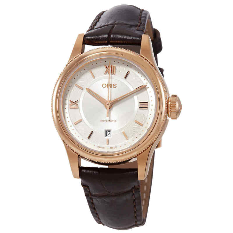 Oris-Classic-Date-Automatic-Silver-Dial-Ladies-Watch-01-561-7718-4871-07-6-14-32