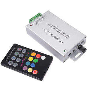 Musik Sound Sensitive Controller + 18Key Fernbedienung für RGB LED Strip LD247
