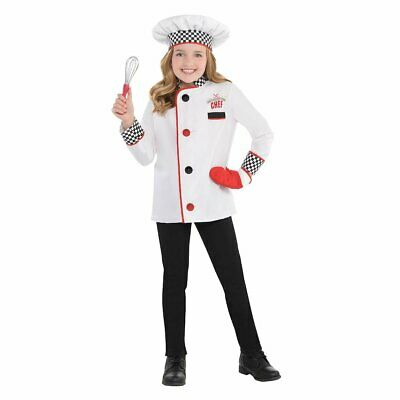 Amazing Me Chef Cook Uniform Kit Child Costume, Small(4 6)](Awesome Baby Costumes)