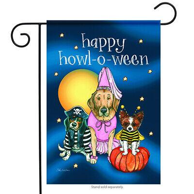 Happy Halloween Fall Garden Flag